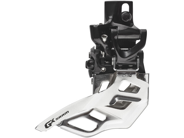 SRAM GX Dérailleur avant 2x10 vitesses High Direct Mount Top Pull, black/silver